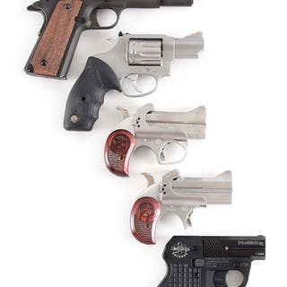 Lot consists of (A) High Point model 1911 USA