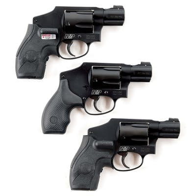 Lot consists of three M&P 340s built on the classic...