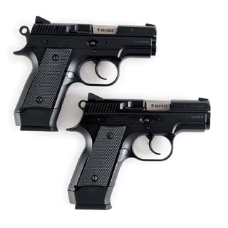Lot consists of (A) CZ import CZ 2075 RAMI