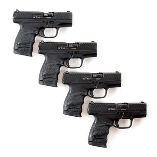 Lot consists of four Walther Model PPS compact