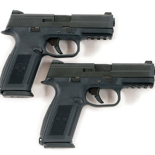 Lot consists of two FN-FNS40 pistols
