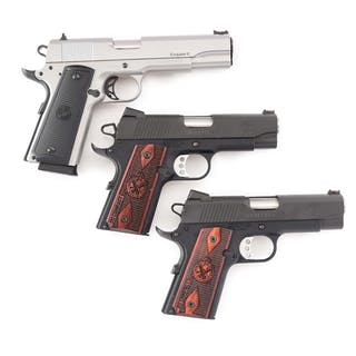 Lot consists of (A) Para Ordnance Stainless steel 1911...