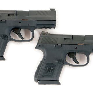 Lot consists of (A) Three dot white combat sights