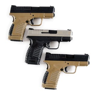Lot consists of three Springfield Armory XD-S pistols