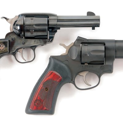 Lot consists of (A) Ruger New Vaquero Single Action...