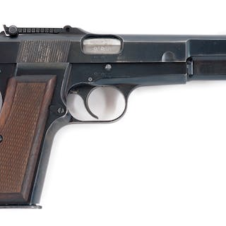 Standard commercial Browning High Power pistol with...