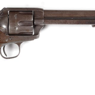 The serial number on this cavalry Colt falls into the range of known Custer guns