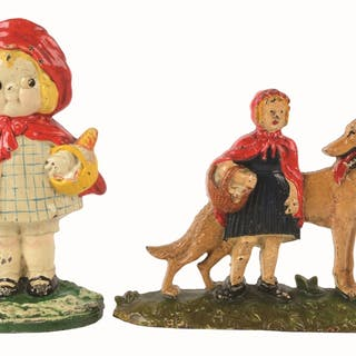 Lot consists of: a Little Red Riding Hood with Wolf