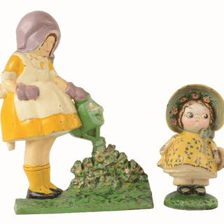 Lot consists of depictions of full-figure Dolly wearing...