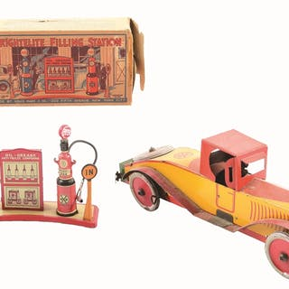 Includes a large Stutz Marx Automobile with original hood ornament