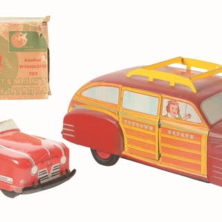Smaller one is Sportsman's Convertible in partial original box