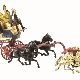 One of the great early horse drawn toys