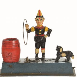 Include two Hubley Trick Dog Banks and one Monkey Bank