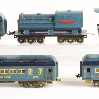 Set consists of: a Lionel 400E