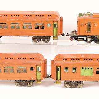 Set consists of: a Lionel 9E Locomotive is complete and...