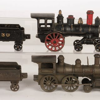 Lot consists: a Harris 4-2-0 Steam Locomotive