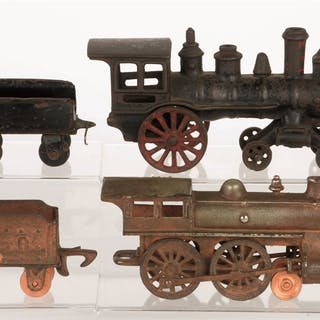 Lot consists of: first is a Harris 4-2-0 Steam Locomotive