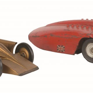 First is a Golden Arrow with original driver