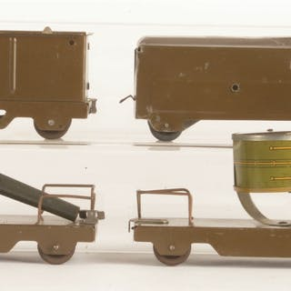 Set consists of: a Steam Locomotive and Tender with bell...