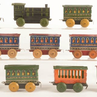 Lot consists of: four Steam Locomotives