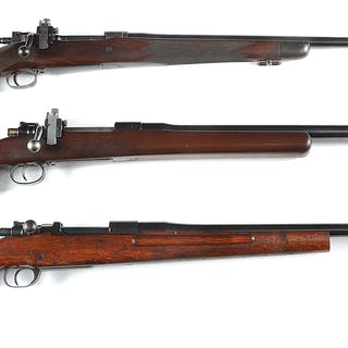 Lot consists of: (A) Custom US Springfield Model 1903 sporting rifle