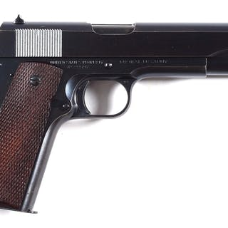 Pre-war 1941 Colt inspected by Charles Reed who worked from 1938-40 only