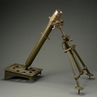 The Stokes mortar was developed by Frederick Wilfred...