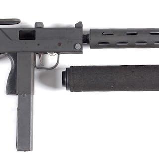 Fast firing Ingram Military Armament Corp M-11 in .380...