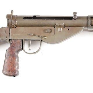 Attractive British Sten MK V machine gun on a Charles Erb...