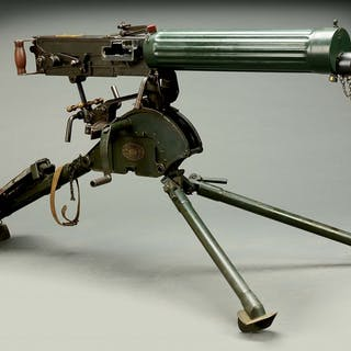 This is a Commercial Class C fluted jacket Vickers gun...