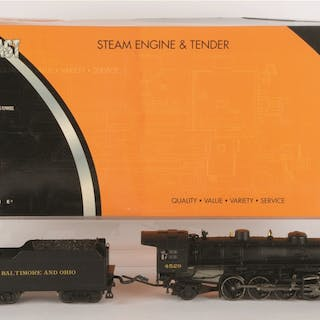 K-Line B&O Mikado Locomotive and Tender is complete like...