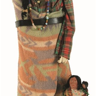 """First doll is 12"""" tall with baby"""