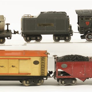 Not a catalog set - includes 500 series and 200 series Freight Cars