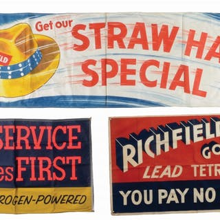 Lot Consists Of: Richfield Here Service Comes First Cloth...