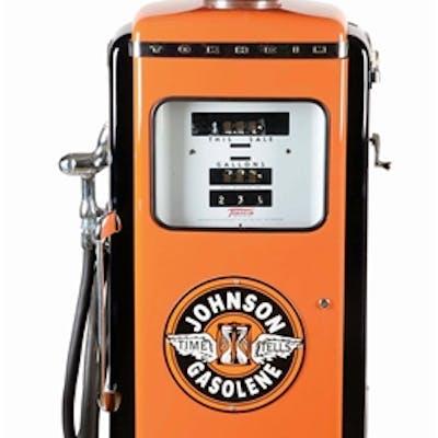 Pump Shows an excellent restoration in Johnson Gasoline