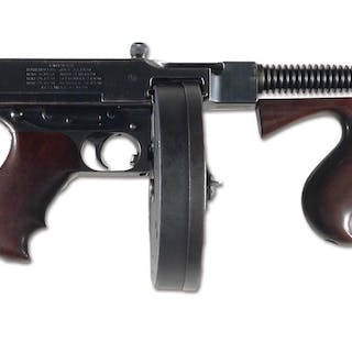 Colt 1921 Thompson with Cutts compensator retaining...