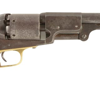 This rare and unique model Colt revolver has been...