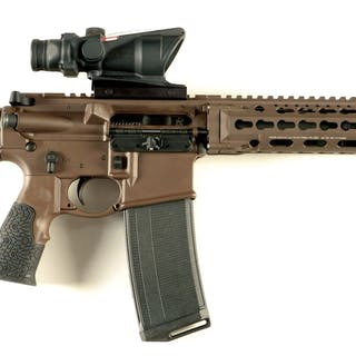 Daniel Defense produced DDM4ISR with Trijicon ACOG with...
