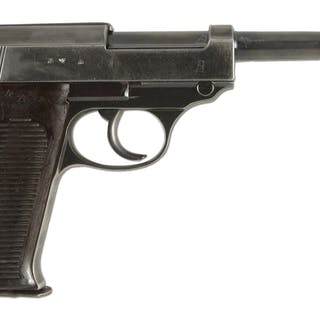 Rarely seen 480 code Walther P-38 with matching numbers...