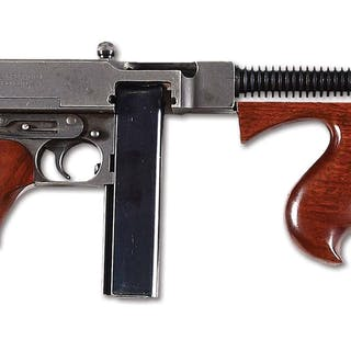 This is an Auto Ordnance Bridgeport manufactured Thompson...
