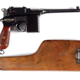 Just an absolutely stunning Mauser broomhandle...