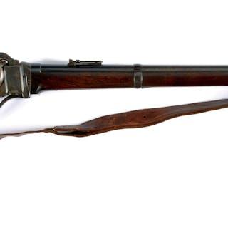 "Standard 30"" full round barrel marked ""New Model 1863"" at breech"