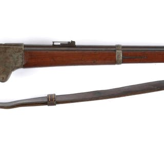 Burnside marked Model 1865 carbines were altered to...