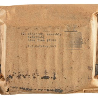 """Thick paper envelope marked """"10 MAGAZINE"""