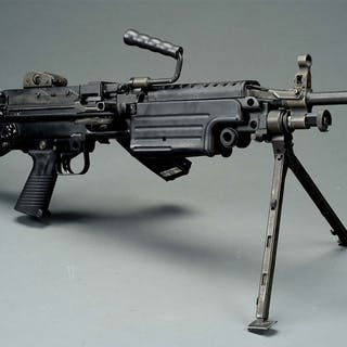Original Fabrique Nationale Herstal fully automatic fire only machine gun