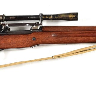 Built utilizing a Pattern 14 Enfield produced by...