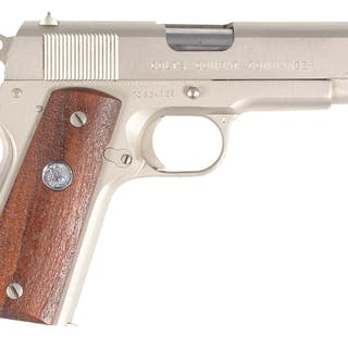 Made in 1971 and finished in the Colt Electroless nickel