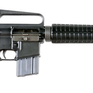 Colt M16A1 with telescoping buttstock
