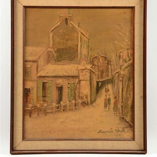 Provenance: Painting gifted to the father of the current...