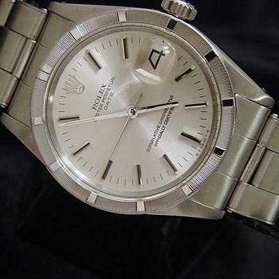 Mens Rolex Stainless Steel Date Silver 1501 (SKU 3153742MT)